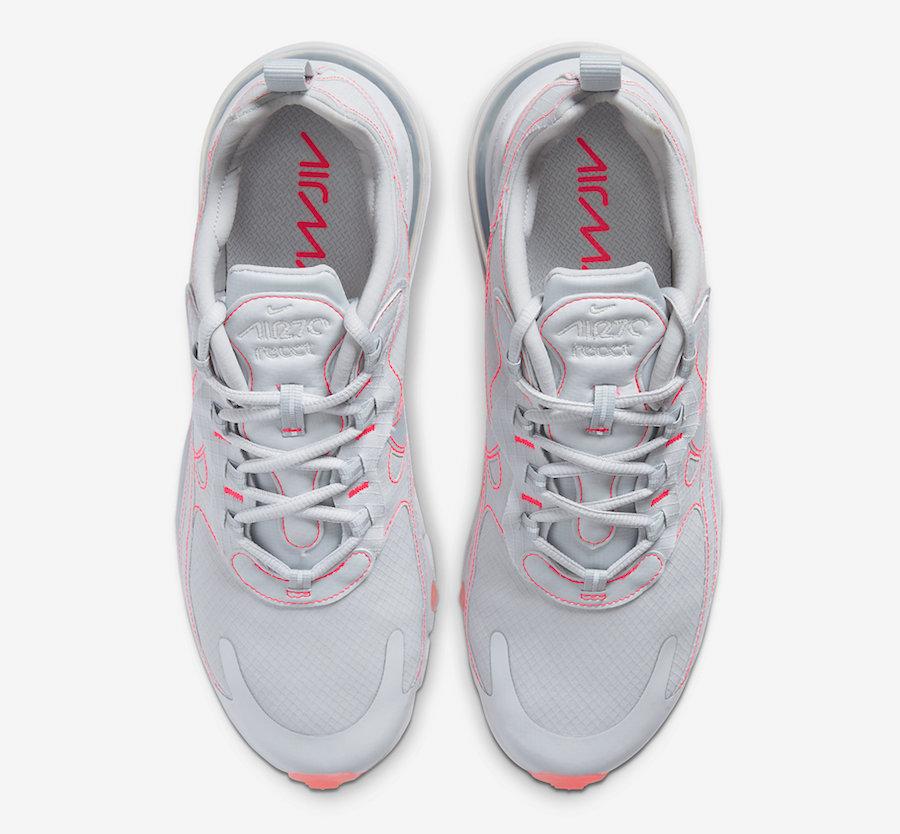 Nike Air Max 270 React Flash Crimson CQ6549-100 Release Date Info