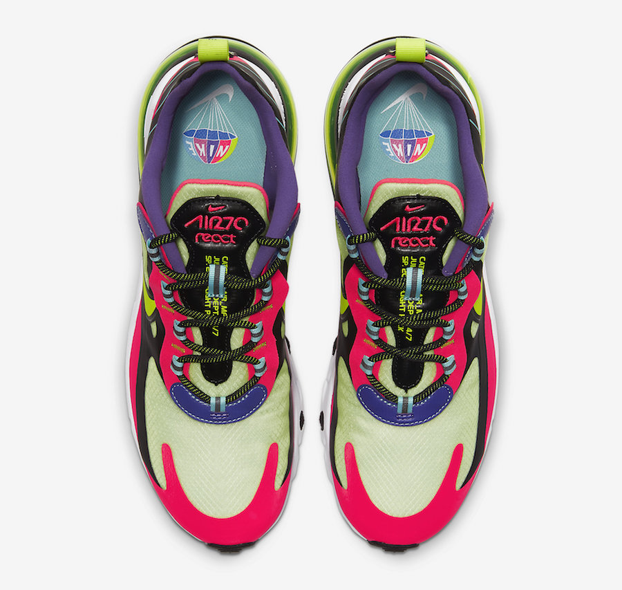 Nike Air Max 270 React Parachute CU4705-001 Release Date Info