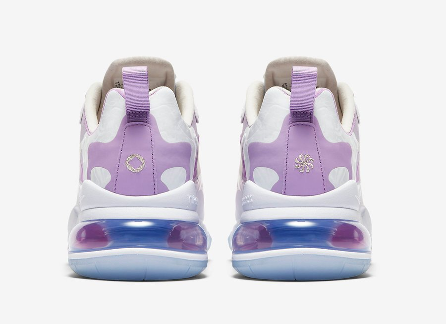 Nike Air Max 270 React Pastel Yellow Pink Purple CU2995-911 Release Date Info