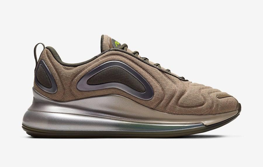 Nike Air Max 720 Baroque Brown Silver Volt CI3870-200 Release Date Info