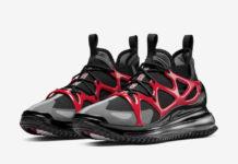 Nike Air Max Horizon Black Iron Grey University Red BQ5808-001 Release Date Info