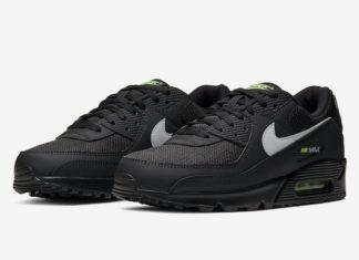 Nike Air Max 90 Black Volt CV1634-001 Release Date Info