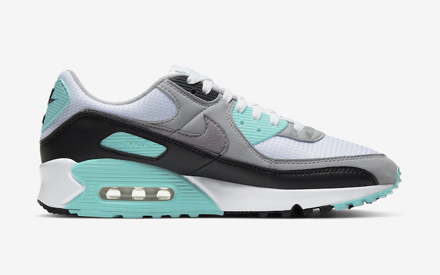 Nike Air Max 90 Hyper Turquoise CD0881-100 Release Date Info