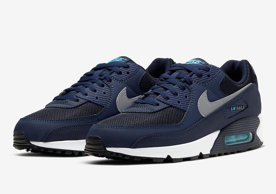 Nike Air Max 90 Obsidian CV1634-400 Release Date Info   SneakerFiles