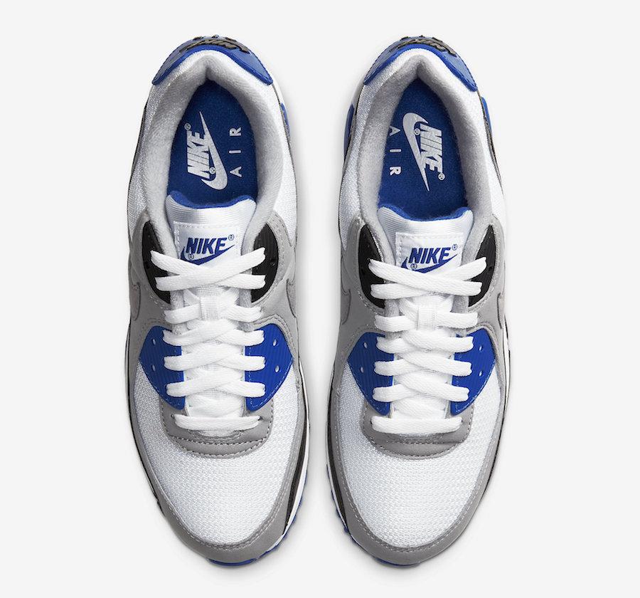 Nike Air Max 90 OG Hyper Royal CD0881-102 Release Date