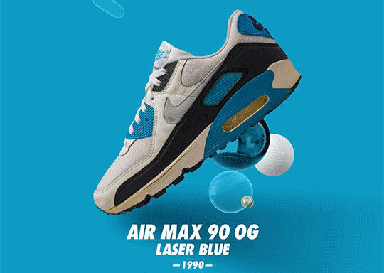 Nike Air Max 90 Retro Laser Blue 2020
