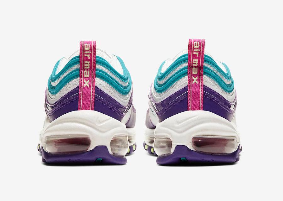 Nike Air Max 97 Grape White Blight Blue Purple Volt CI7388