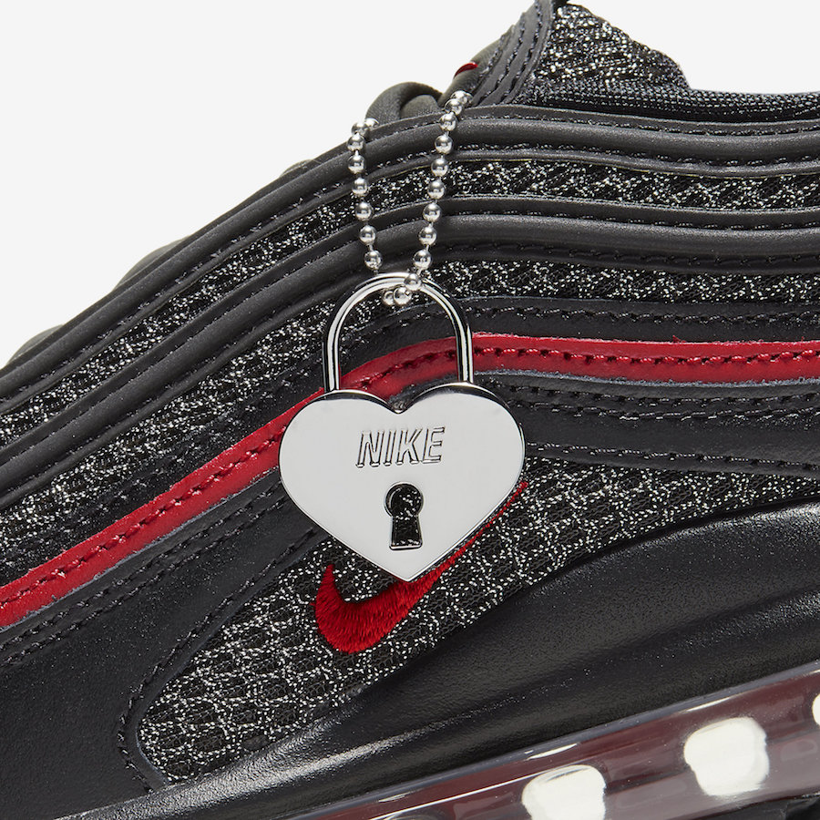 Nike Air Max 97 Valentines Day Heart Locket CU9990-001 Release Date Info