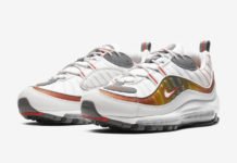 Nike Air Max 98 White Grey Orange CD0132-002 Release Date Info