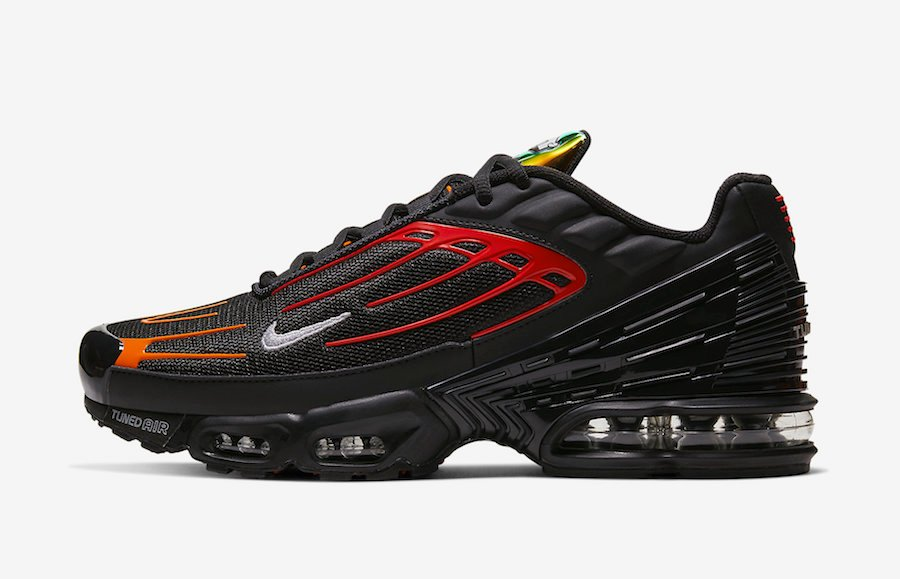 Nike Air Max Plus 3 Black Orange Red CV1643-001 Release Date Info