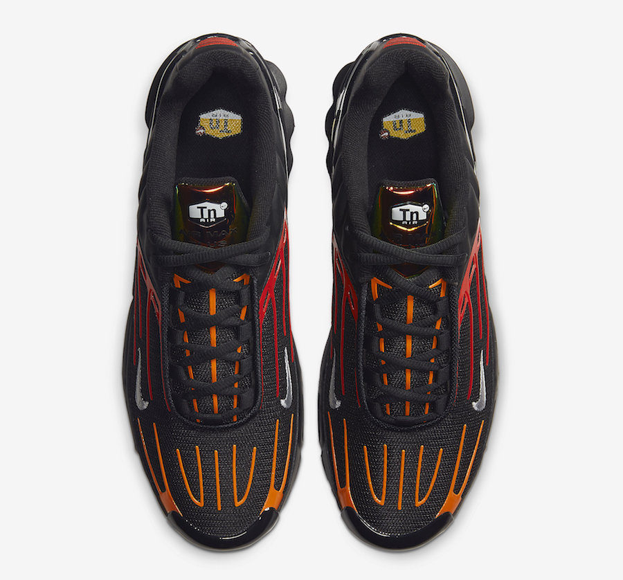 Nike Air Max Plus 3 Releasing In Black Orange And Red Getswooshed