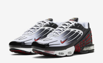 Nike Air Max Plus 3 Black White Red CD7005-004 Release Date Info