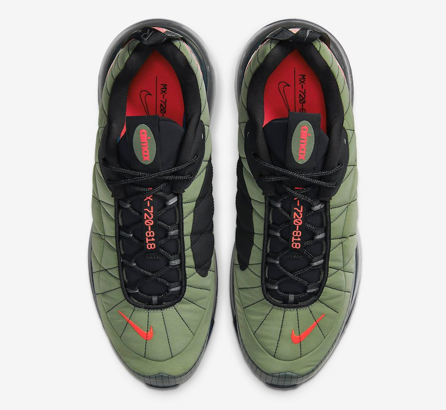 Nike Air MX 720-818 Cargo Khaki CI3871-300 Release Date Info