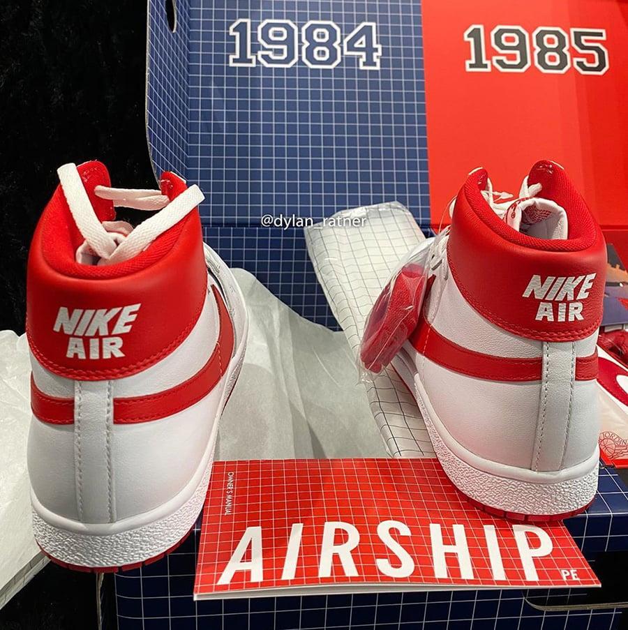 Nike Air Ship Air Jordan 1 High 85 New Beginnings Pack CT6252-900 Release Date