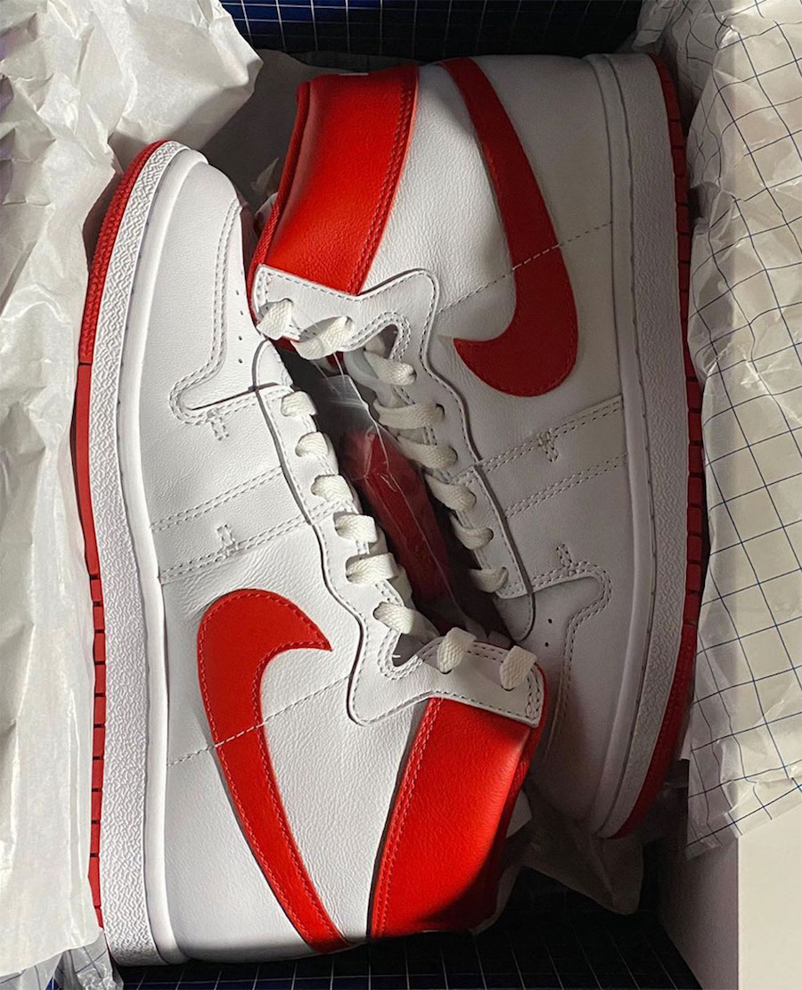 Nike Air Ship PE 1984 White Red Release Date Info
