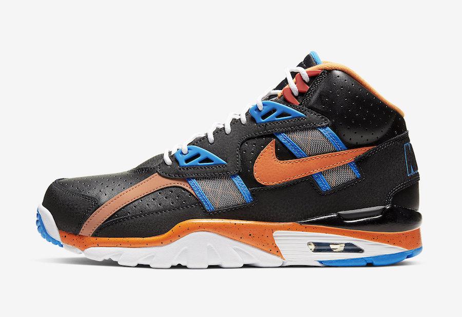 Nike Air Trainer SC High Black Orange Blue CU6672-001 Release Date Info