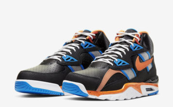 Nike Air Trainer SC High Black Orange Blue CU6672-001 Release Date Info