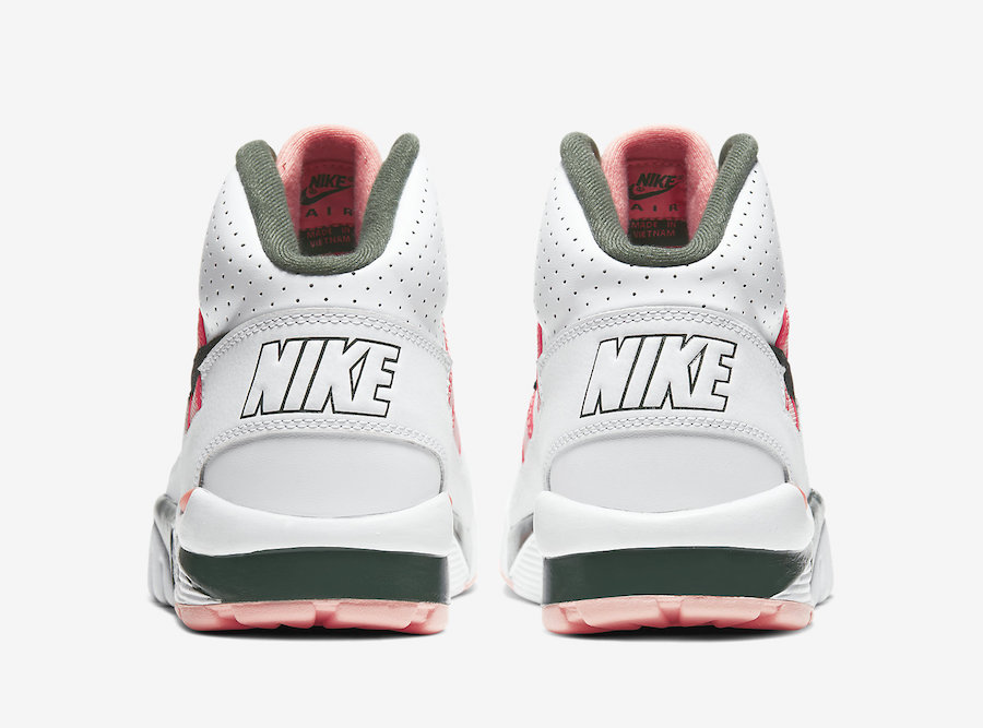 Nike Air Trainer SC High Pink Green CU6672-100 Release Date Info