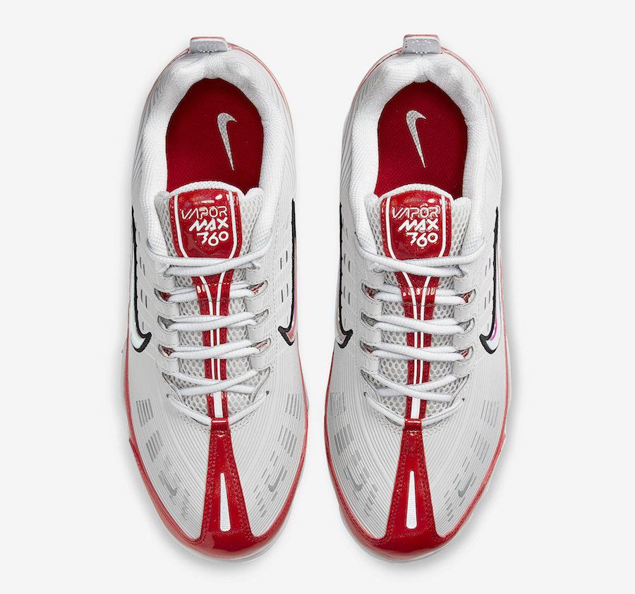 Nike Air VaporMax 360 University Red CK2718-002 Release Date