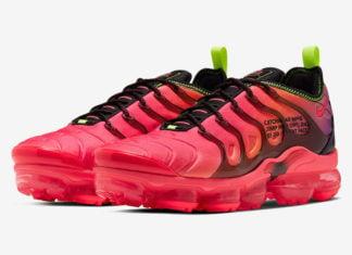 Nike Air VaporMax Plus Pink Parachute CU4709-001 Release Date Info