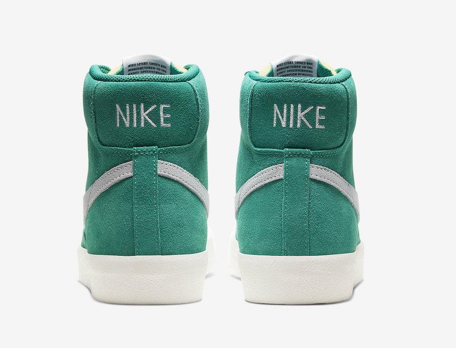 Nike Blazer Mid 77 Suede Nature Green CI1172-300 Release Date Info