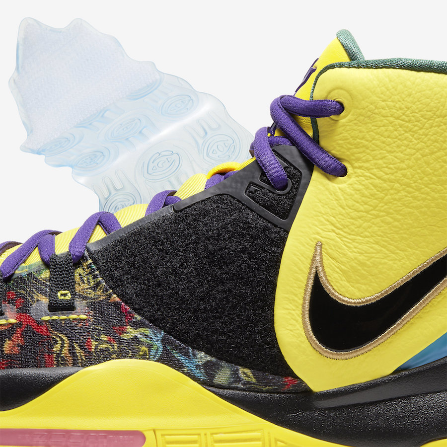 Nike Kyrie 6 Chinese New Year Yellow CD5029-700 Release Date Info