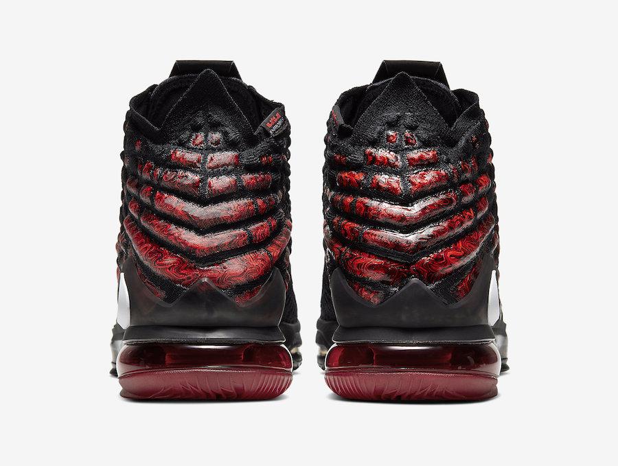 Nike LeBron 17 Infrared BQ3177-006 Release Date