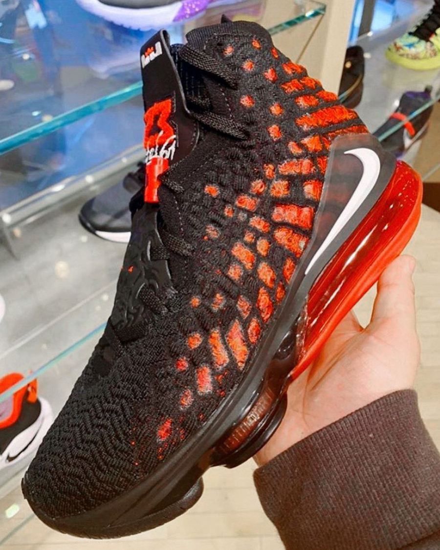 Nike LeBron 17 Infrared Release Date Info