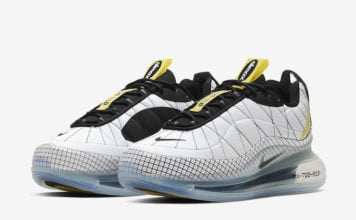 Nike MX 720-818 White Black Yellow CI3871-100 Release Date Info