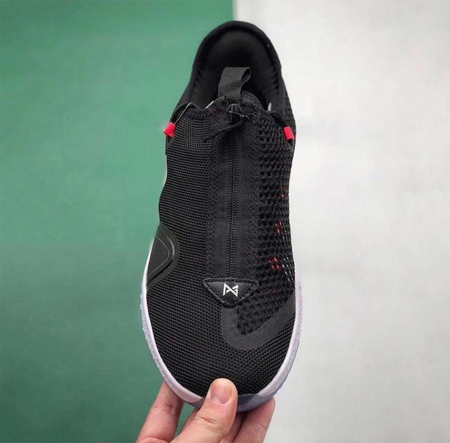 Nike PG 4 Black White