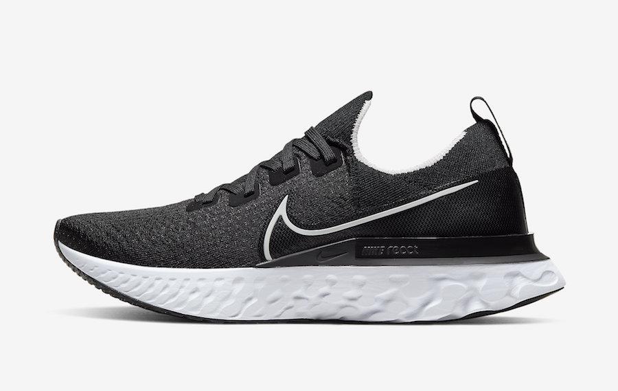 Nike React Infinity Run Black White CD4371-002 Release Date Info