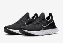 Nike React Infinity Run Black White CD4371-002 Release Date Info