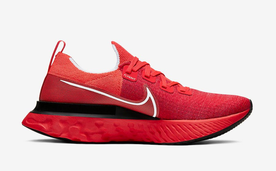 Nike React Infinity Run University Red CD4371-600 Release Date Info