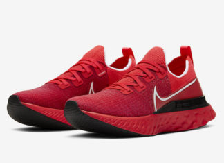 Nike React Infinity Run University Red CD4371-600 Release Date Info