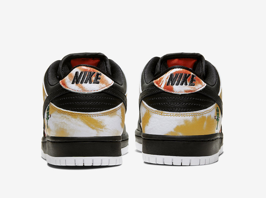 Nike SB Dunk Low Raygun Tie-Dye Black BQ6832-001 Release Date