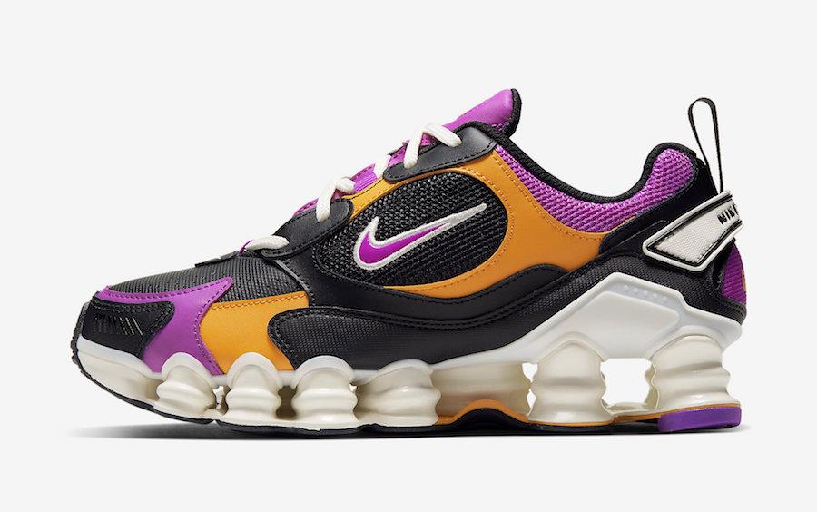 Nike Shox Nova Black Pink Orange AT8046-002 Release Date Info