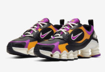 Nike Shox Nova Black Pink Orange AT8046-002 Release Date Info