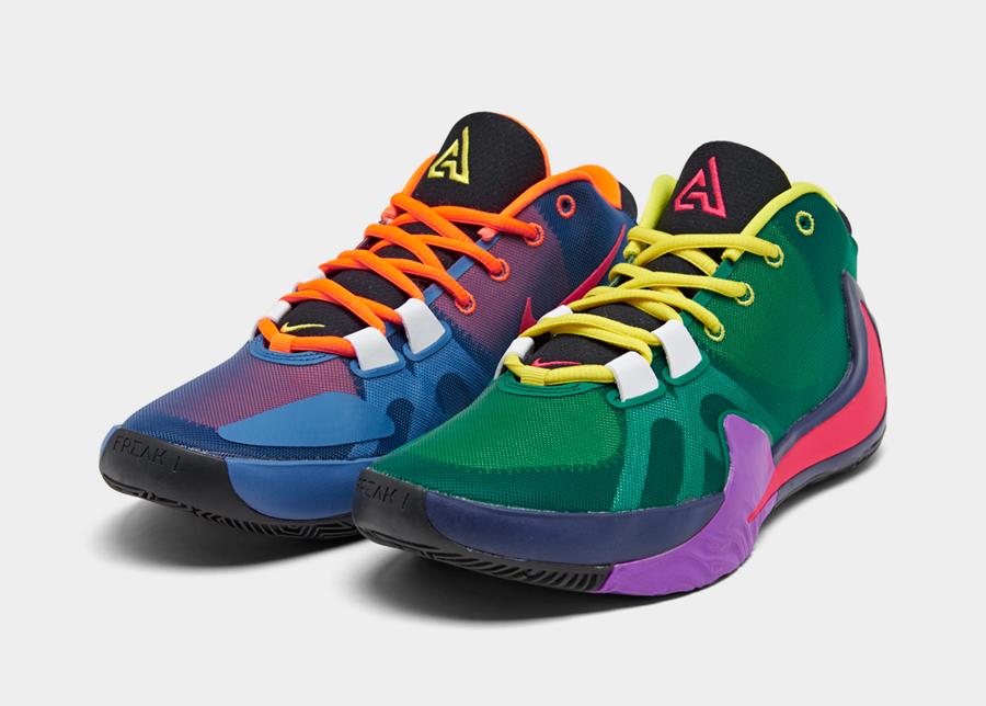 Nike Greek Freak 1 Colorways, Release