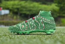 OBJ Grinch Nike PE Cleats
