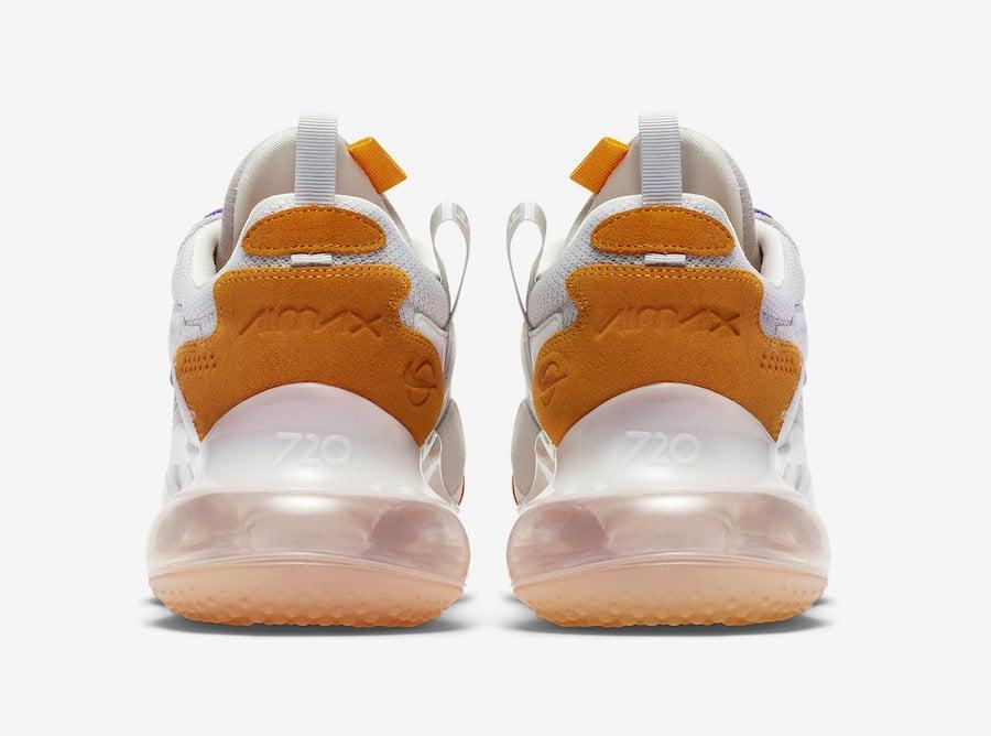 Nike Air Max 720 OBJ 'LSU' Release Date CK2531 001 | Sole