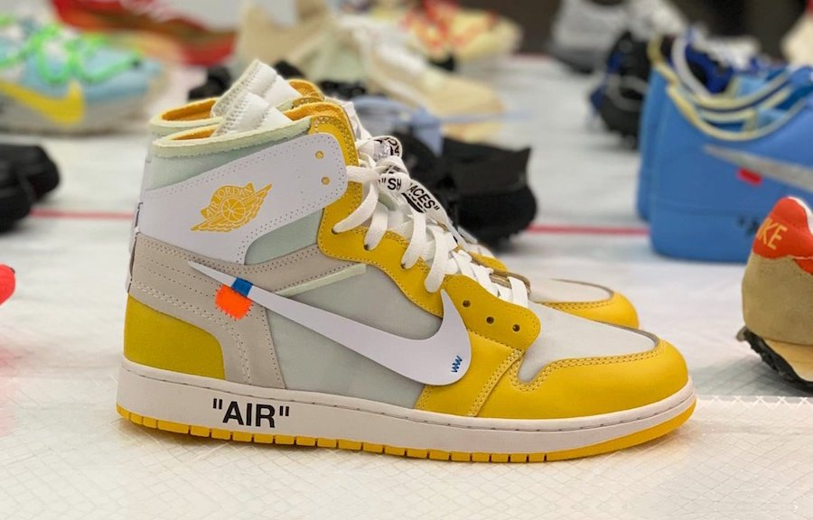 Off-White Air Jordan 1 Canary Yellow Release Date Info