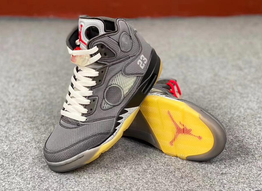 Off-White Air Jordan 5 Black CT8480-001