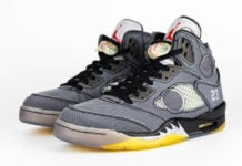 Off-White Air Jordan 5 Retro CT8480-001 Release Date