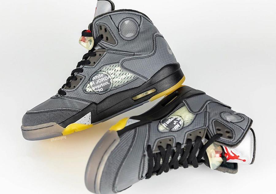 Off-White Air Jordan 5 Retro CT8480-001 Release Date