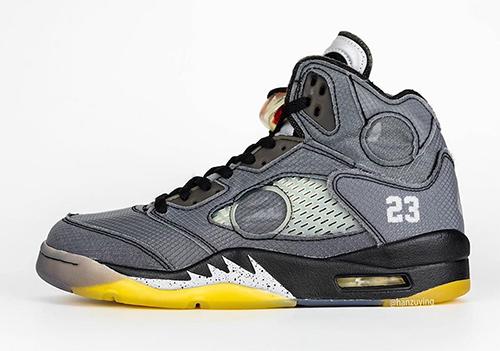 Off-White Air Jordan 5 Retro Release Date