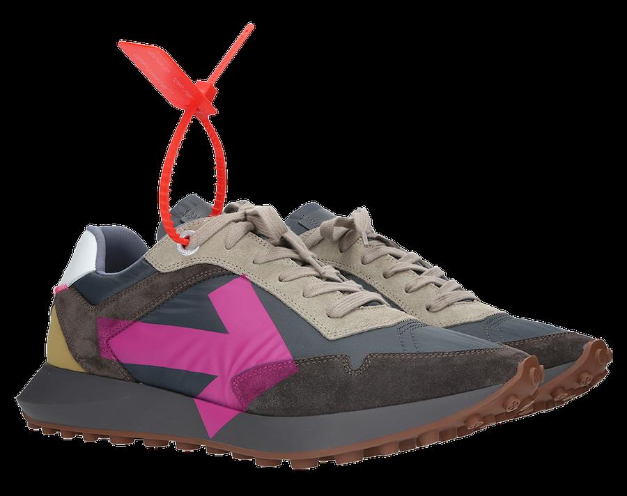 Off-White Arrow Sneaker Fuchsia Release Date Info