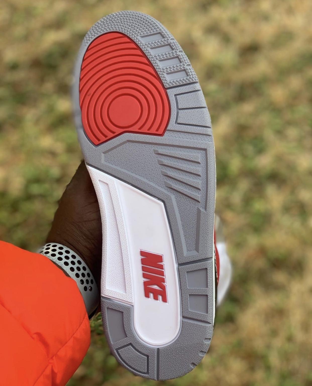 Red Cement Air Jordan 3 CK5692-600 Release Date