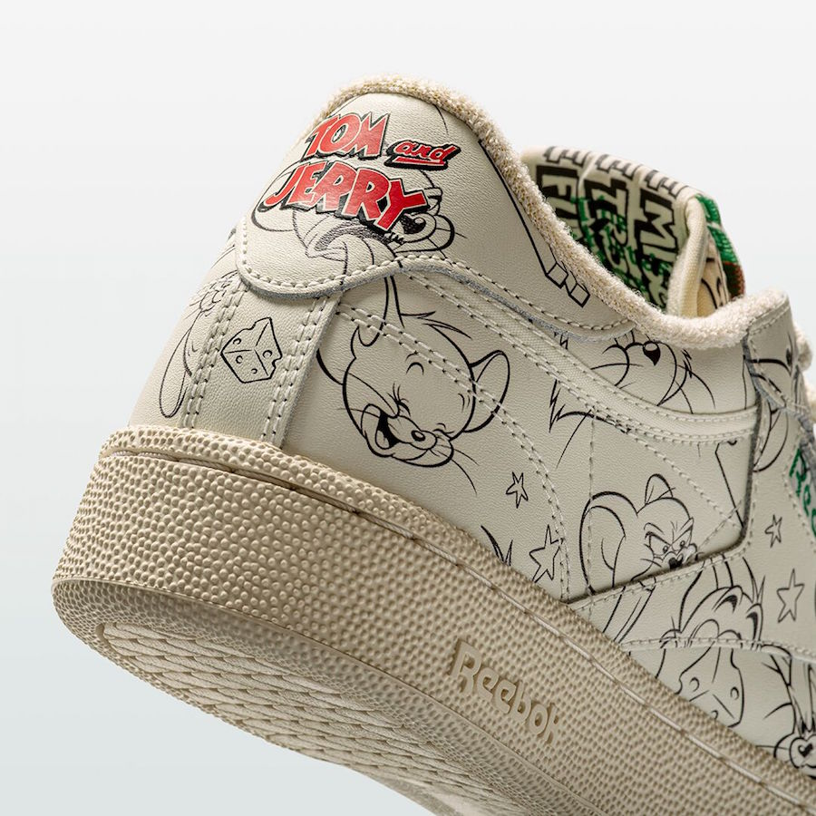 Reebok Club C Tom Jerry Release Date Info