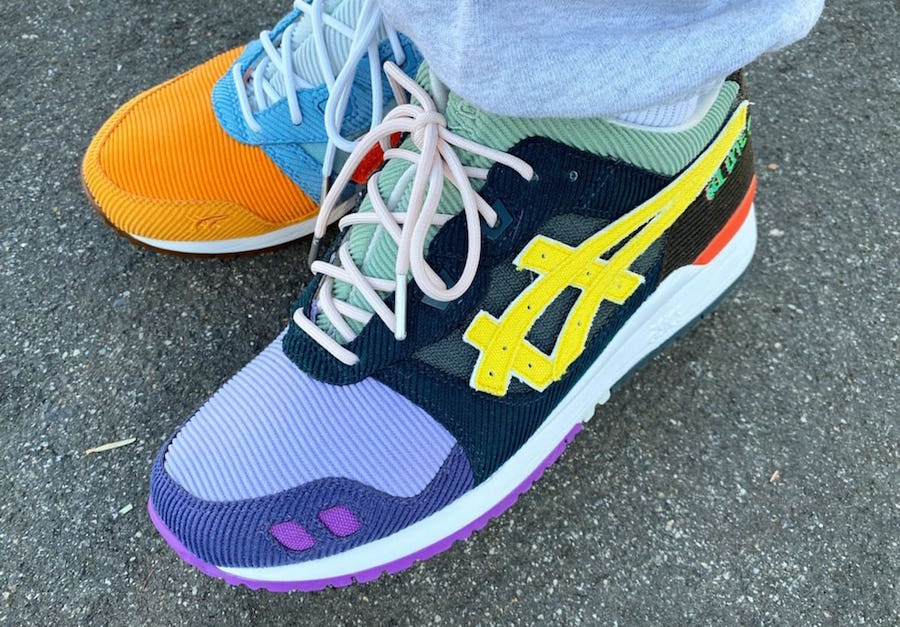 Sean Wotherspoon atmos Asics Gel Lyte III On Feet