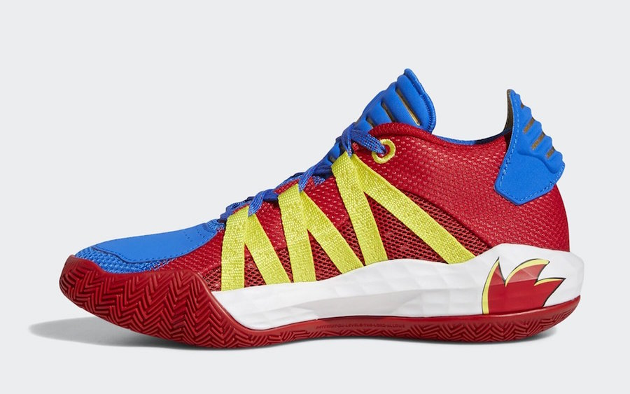 Sonic the Hedgehog adidas Dame 6 Release Date Info